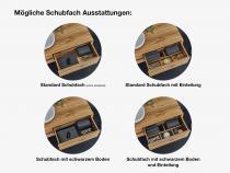 """""""Insa"""" Waschtischunterschrank aus Massivholz inkl. Waschtisch aus Corian®   Lapidispa®"""